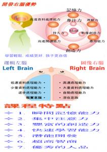 6歲前嬰幼兒右腦開發課程